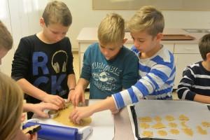 Kekse backen 3. und 4. Schulstufe (10)